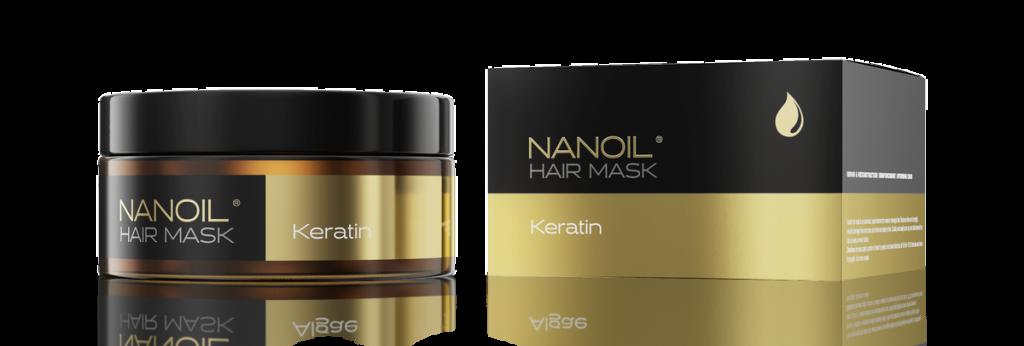 Nanoil - Maska do włosów z keratyną